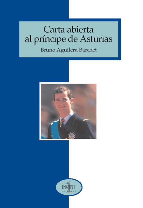 Carta abierta al principe de asturias Portada