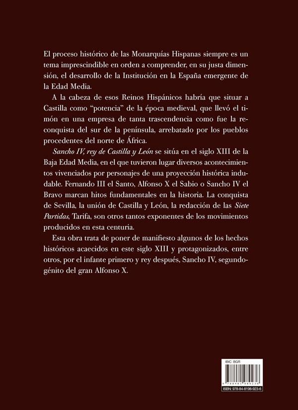 Sancho Iv Contraportada